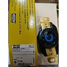 Hubbell HBL2320 - NEMA L6-20R Twist Lock Receptacle, Rated 20A, 250V