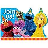 Sesame Street Invitations (8 ct)