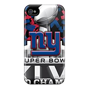 CharlesPoirier Iphone 6plus Bumper Cell-phone Hard Covers Custom Attractive New York Giants Image [mjQ12416nXjf]