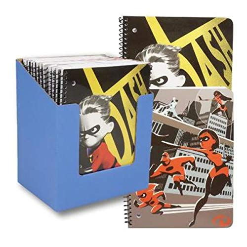 DDI 2323453 Incredibles 2 Notebook44; 3 Assorted Style - Case of 48 - 48 Per Pack