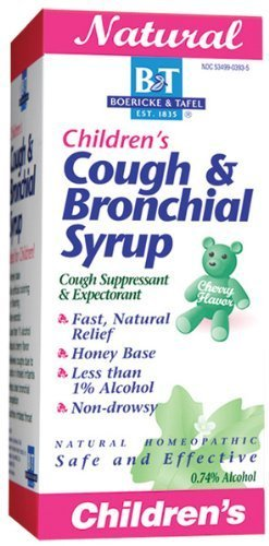 Child Cough/Bronch Syrup 4 oz 4 Ounces by Boericke & Tafel Bronch Syrup