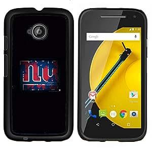 /Skull Market/ - NY Grunge For Motorola Moto E 2nd Generation - Mano cubierta de la caja pintada de encargo de lujo -