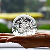 qianyue Crystal Glass Marbles Water Fountain Bubble Ball feng Shui Decorative Glass Balls Home Indoor Water Fountain Figurines