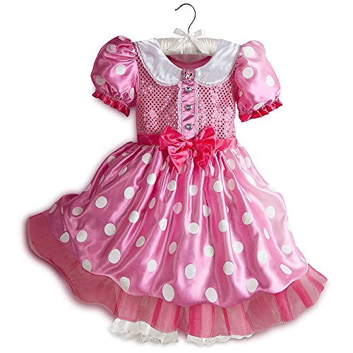 Minnie Mouse Costume Size 2t (Disney Store Minnie Mouse Pink Costume Halloween XXS Extra Extra Small 2 2T)