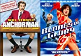 Seeing Things You Shouldn't See and Now Can't Unsee From Will Ferrell: Anchorman The Legend of Ron Burgundy & Blades of Glory 2 Movie Comedy Bundle