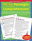 Hi-Lo Passages to Build Comprehension, Michael Priestley, 0439548888