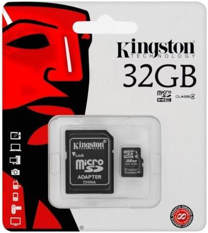 Keple carte m/émoire 32/Go SD pour Arecord B40d Dash Voiture Cam/éra Cam/éscope HD Dashcam Kingston Class 4/SDHC SDXC