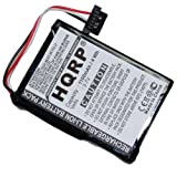 HQRP Battery for Magellan Maestro 4000 4000T 4010 4040 4050 37-00030-001 E4MT181202B12 MX0708 GPS Navigator + HQRP Coaster