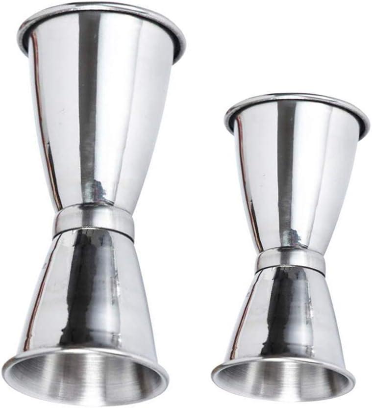 Gobesty Vaso Medidor de Cócteles, 2 piezas Copa para medir ...