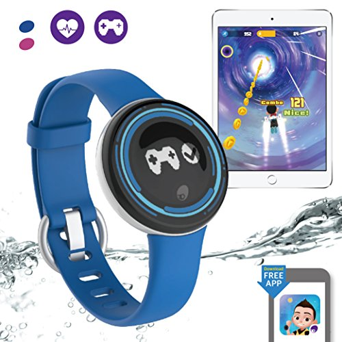 PAI Technology PaiBand Kids Activity Tracker IP67 Water Resistant Fitness Tracker as Step Counter Sleep Monitor Pedometer Smart Bracelet with Motion Sensor Game – DiZiSports Store