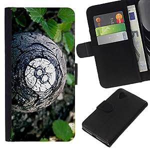 // PHONE CASE GIFT // Moda Estuche Funda de Cuero Billetera Tarjeta de crédito dinero bolsa Cubierta de proteccion Caso LG Nexus 5 D820 D821 / 8 Ball /