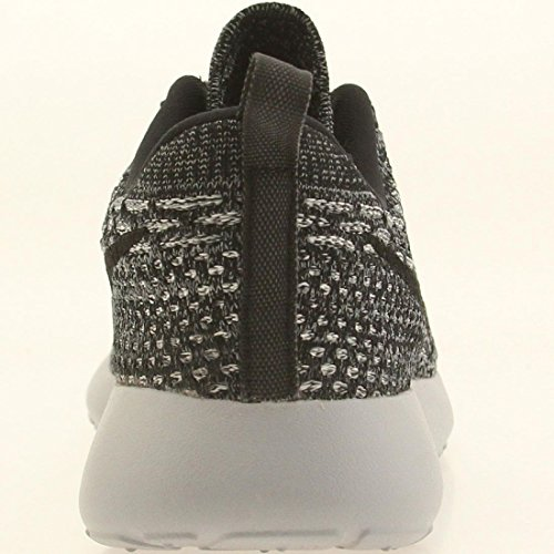 NIKE Women's WMNS Roshe One Flyknit, Cool Grey/Black-Wolf Grey-White Grey