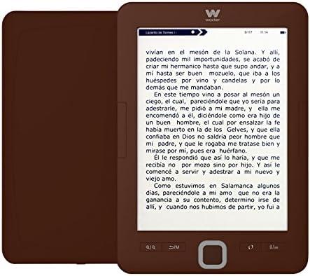 Woxter E-Book Scriba 195 Chocolate- Lector de Libros electrónicos ...