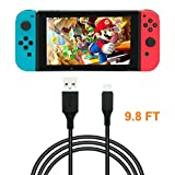 10 Feet Charging Cable for Nintendo Switch ,Fast charge,USB Type A to Type C Charging Cable for Switch