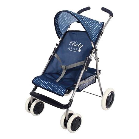ColorBaby Sillita para muñecas Baby Style, Color Azul (44917)