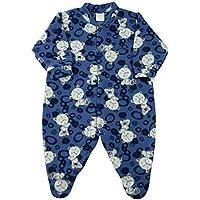 Macacão Pijama Bebê Microsoft Estampado - Azul M