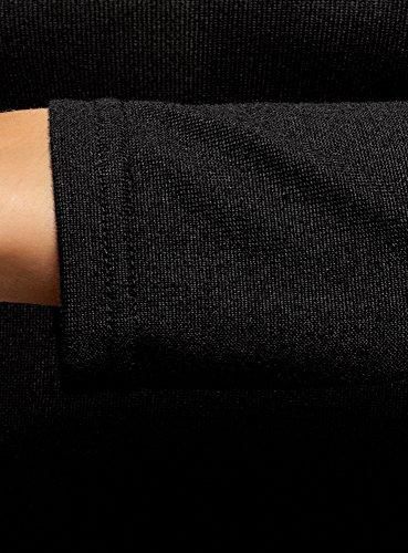 Donna 2900n Ultra Aderente Basic Nero oodji Dolcevita Maglione 5z4O4