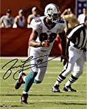 #4: Jason Taylor Miami Dolphins Autographed 8'' x 10'' Running Photograph - Fanatics Authentic Certified