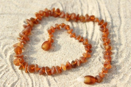 Wholesale 10 Raw Baltic Amber Teething Necklaces by Gumstone