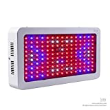 CoolEStore 1500W Double Chips LED Grow Light Full Spectrum Grow Lamp for Greenhouse Hydroponic Indoor Plants Veg and Flower