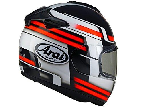 - Arai Quantum-X Competition Red Full Face Helmet - Large