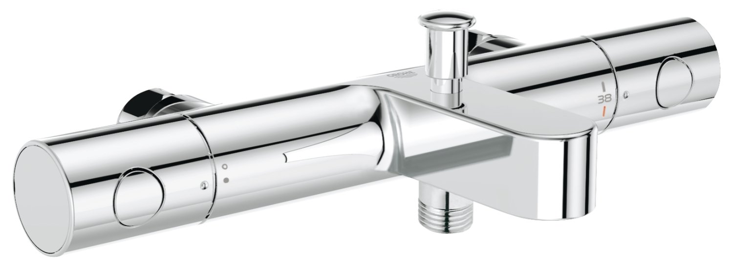 Grohe mitigeur thermostatique bain douche grohtherm 1000 cosmopolitan m 34323002 import allemagne amazon fr bricolage