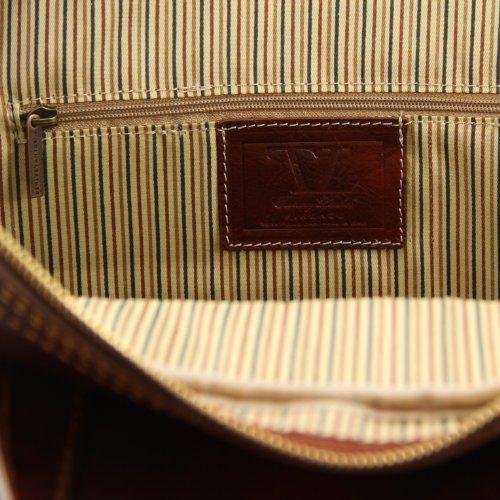 830674 - TUSCANY LEATHER: Bora Bora - Sac à roulettes- Grand modèle, marron