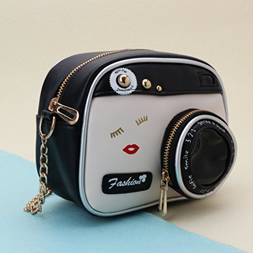 Camera piccola Borsa donna Shape Bag Messenger da Simplelife g6Tadng