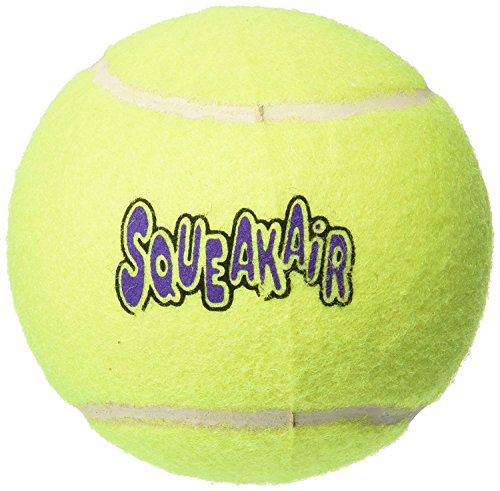 Kong Air Squeaker Tennis Ball squeaky dog toy xl
