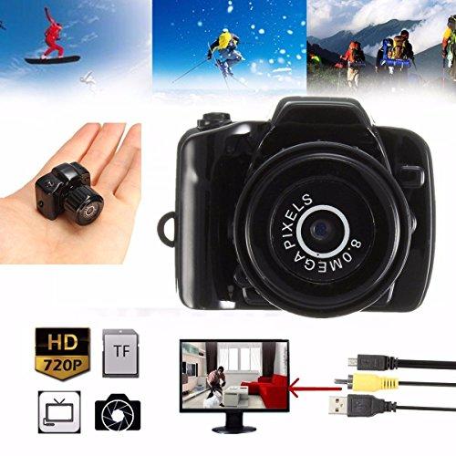Y3000HD 720P 8.0MP Mini cámara grabadora de vídeo digital videocámara dv dvr