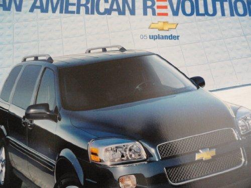 2005 Chevy Chevrolet Uplander Sales Brochure