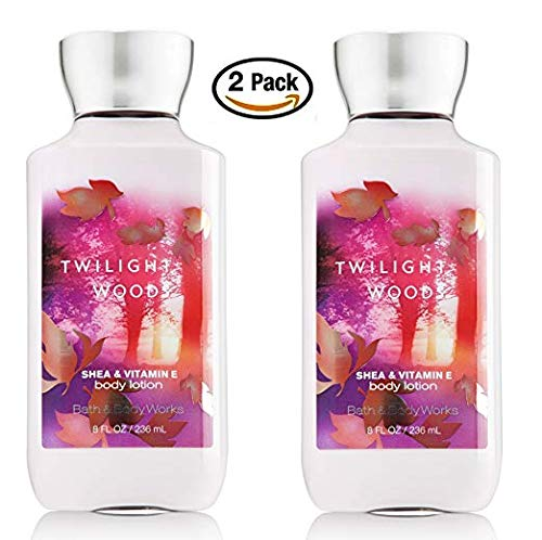 (Retired Fragrance - Bath & Body Works Signature Collection Twilight Woods Body Lotion 8oz/236ml 2 pack)