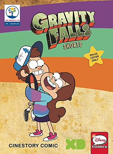 Gravity Falls Shorts #4 comic book by Disney Joe Books