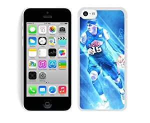 Fashionable Antiskid Cover Case For iPhone 5C With New York Knicks Anthony 2 White Phone Case