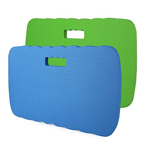 2 Pack Kneeling Pad, Skyoo Knee Protection Garden Kneeler Bath Kneeler Floor Kneeler Yoga Kneeler Mat for Gardening,Baby Bath Tub Bathing,Cleaning,Praying and Exercise, 16