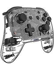 Controlador Wireless Switch Pro para Nintendo Switch/Switch Lite,NS Controlador remoto com Turbo, Giro de 6 eixos e Dupla Vibração