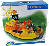 ": Pirate Hideout Play Center, 120"" X 60"" X 64"""