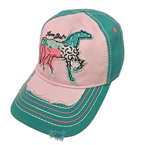 Farm Girl Kids Patchwork Horse Hat - M/L