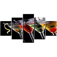 Shisky Quadri Moderni,Olio su Tela Arte casa Camera da Letto Moderna Decorare Pittura Stampa Frutta Vino Vetro