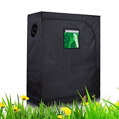 TopoLite 32''x32''x63'' 36''x20''x63'' 36''x36''x72'' Indoor Grow Tent Plant Dark Room Hydroponic Growing System (36''x20''x63'' metal corner/ window) by TopoLite