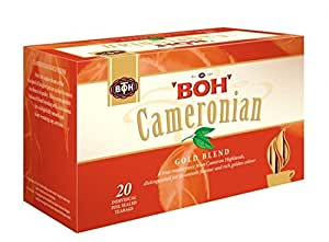 BOH Tea, Cameronian Gold Blend, 20 Count Teabags (1 Pack) - Model Id BOHC1 - USA Stock