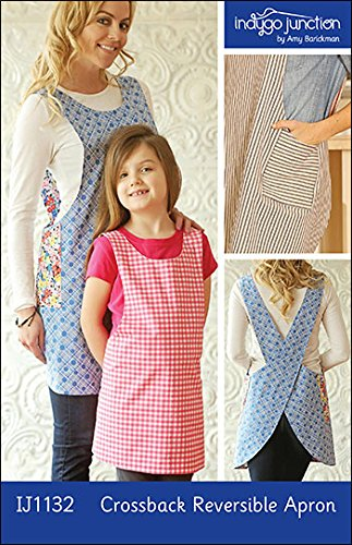 Indygo Junction Crossback Reversible Apr - Reversible Apron Pattern Shopping Results