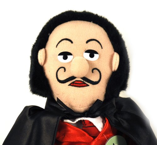 """The Unemployed Philosophers Guild Salvadore Dali Little Thinker - 11"""" Plush Doll for Kids and Adults"""