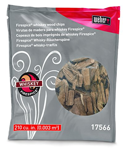 (Weber Stephen Products 17566 Natural Organic Whiskey Wood Chip, 3 lb,)