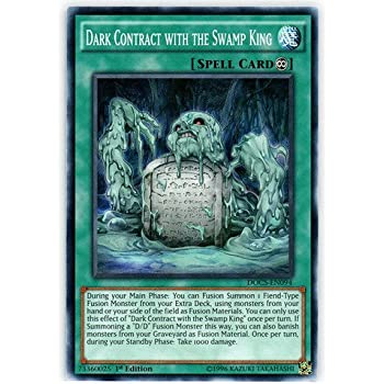 Yu gi oh dark contract with the swamp king for Dark world structure deck amazon