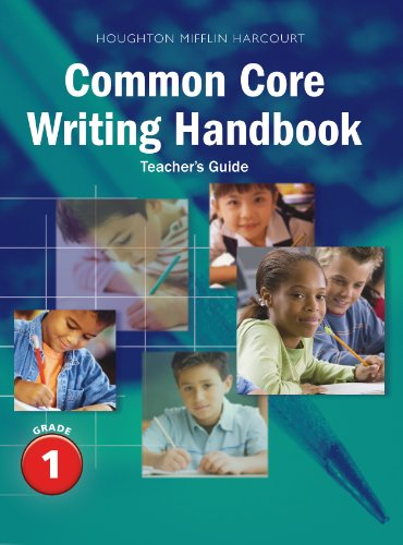 Journeys: Writing Handbook Teacher's Guide Grade 1