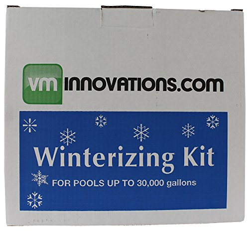 VMInnovations Swimming Pool Winterizing Chemical Treatment Closing Kit - Up to 30,000 Gallons