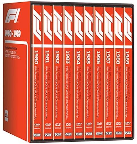 Amazon com: F1 1980-89 (10 DVD) Box Set: Alain Prost, Ayrton