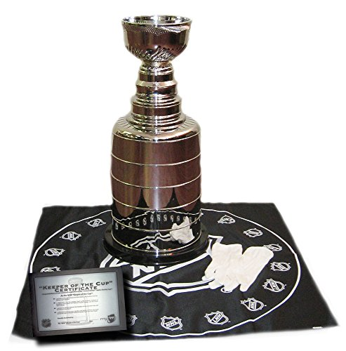 Replica 2' Stanley Cup NHL Championship Hockey Trophy with Accessories