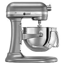 KitchenAid RKP26M1XCU PRO600 Stand Mixer Continental - Silver (Certified Refurbished)